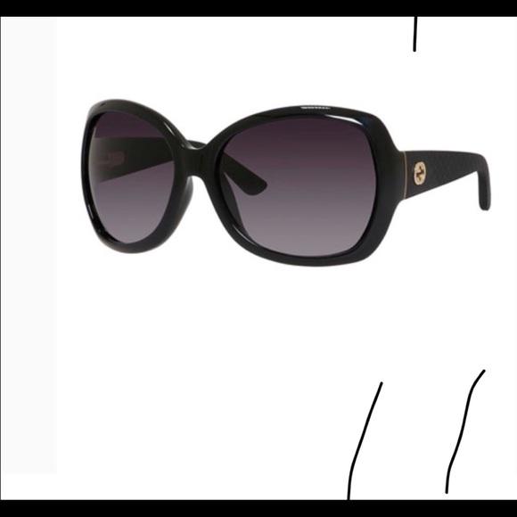 5480d89c2870e Gucci oversized sunglasses